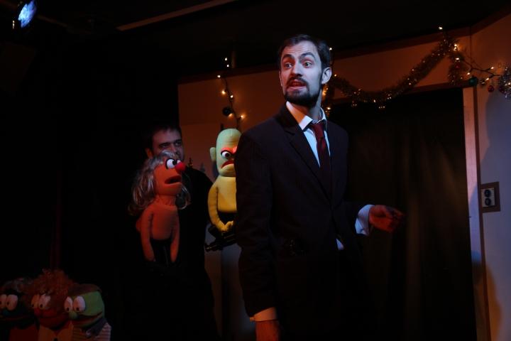 Muppits Die Hard - The Wardrobe Theatre (2)